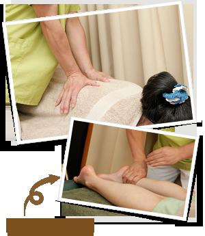 女性でも痛みを感じない、ソフトな手技療法が基本!