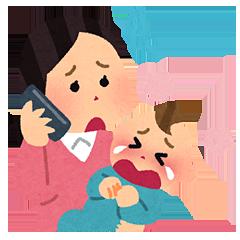 育児に奮闘中のママ